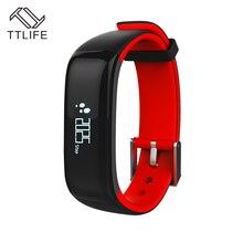 TTLIFE P1 Bluetooth 4.0 смарт-браслет крови Давление монитор носимый монитор сердечного ритма Смарт-Браслет Для Xiaomi смартфонов