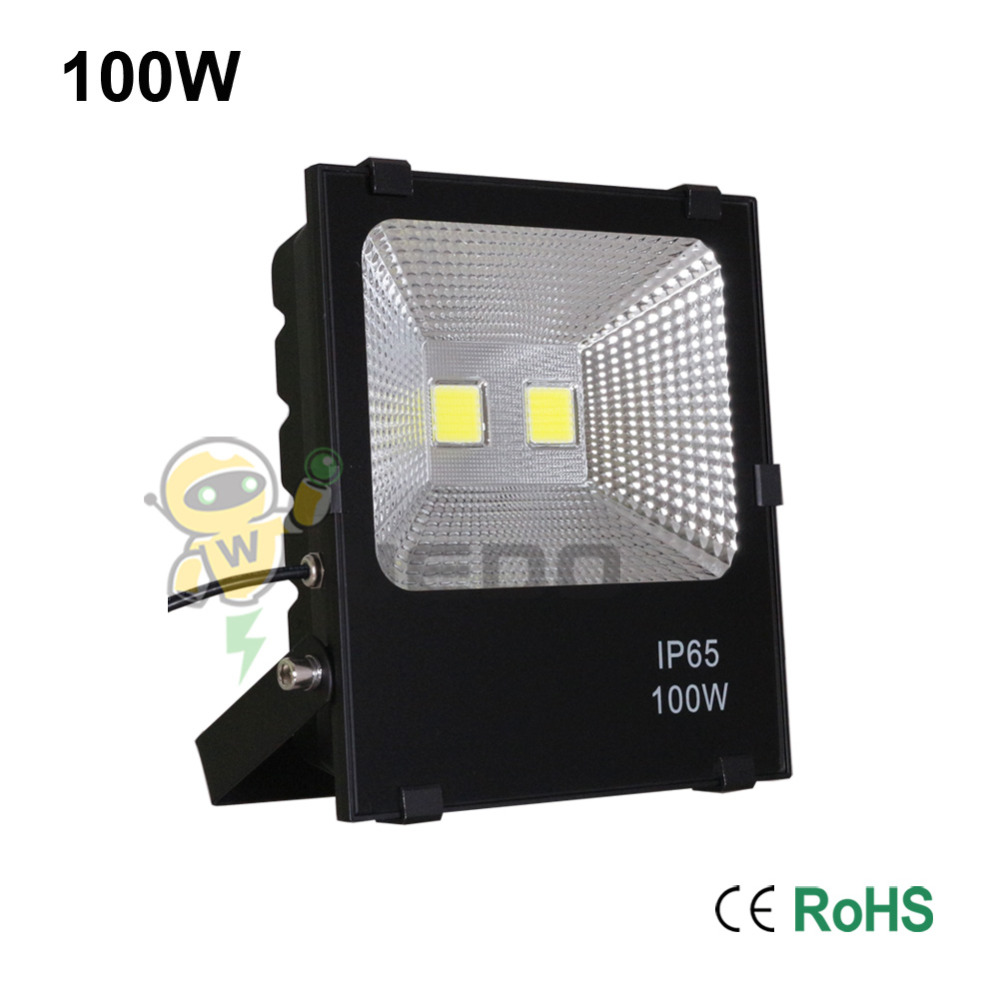 100W LED Flood Light Lamp Super Bright Outdoor Waterproof IP65 Non-Dimmable Cool White/Natural White/Warm White 85-265V free shipping 15w led ceiling lamp lantern indoor lamp led spotlight cool warm white 85 265v