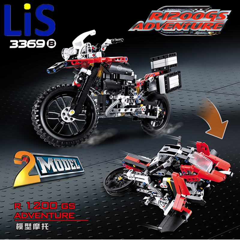 Lis DECOO 3369 Technic Series The BAMW Off-road Motorcycles R1200 GS Building Blocks Bricks Educational Toys Lepin 20032 decoo 3369 technic series the bamw off road motorcycles r1200 gs building blocks bricks educational toys lepin 20032 b11