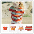 PRE-SALE 2017 INS HOT BOBO CHOSES SUMMER STRIPE KIDS T SHRITS SHORTS KIDS CLOTHING SETS BABY BOY CLOTHES BABY GIRL CLOTHES BOYS