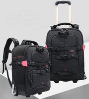 Professional NEW Camera Bag DSLR Waterproof Backpack Capacity 2DSLR 3 Lenses Accessories laptop Tripod 0829