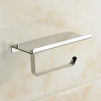 1pc Stainless Steel Bathroom Toilet Roll Paper Holder