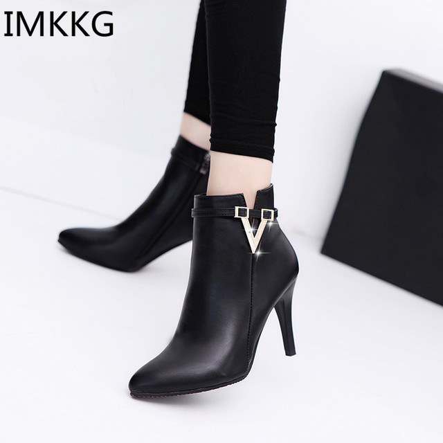 Aliexpress.com : Buy IMKKG Spring Autumn Stiletto Thin High Heels ...