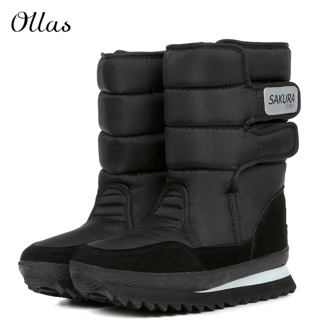 Aliexpress.com : Buy Fashion women boot waterproof women winter ...