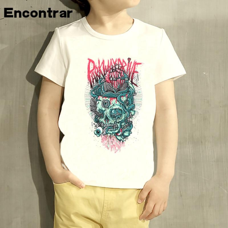 Kid Parkway Drive Metalcore Punk Rock band Design Baby Boys/Girl TShirt Kids Funny Short Sleeve Tops Children Cute TShirt,HKP976