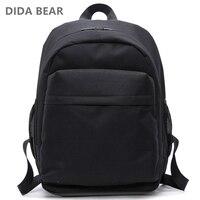 DIDA BEAR New Women Backpacks Men Backpack Boys Large School Bags For Teenagers Girls Unisex 15