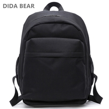 DIDA BEAR New Women Backpacks Men Backpack Boys Large School Bags For Teenagers Girls Unisex 15 inch Laptop Bag Travel Rucksack original brand for macbook air 14 4 15 6 inch notebook computer bag laptop backpack school bags for teenagers boys girls