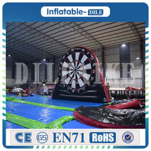 Free shipping 3m 4m 5m high inflatable foot darts dart game giant inflatable font b football
