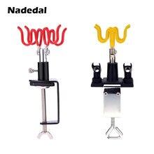 Nasedal kit de suporte de gravidade para airbrush, suporte para pintura de ar, 4 braçadeiras, suporte de mesa estação de estação