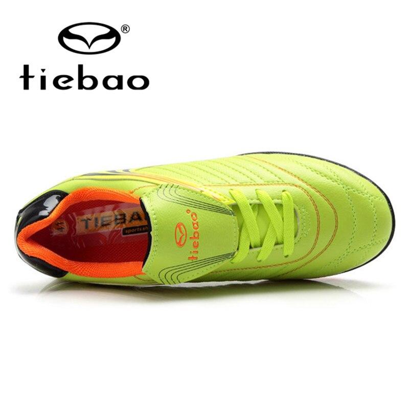 TIEBAO חיצוני כדורגל גרב מגפי גברים קרסול כדורגל מגפי כדורגל סוליות קרסול superflys כדורגל נעליים