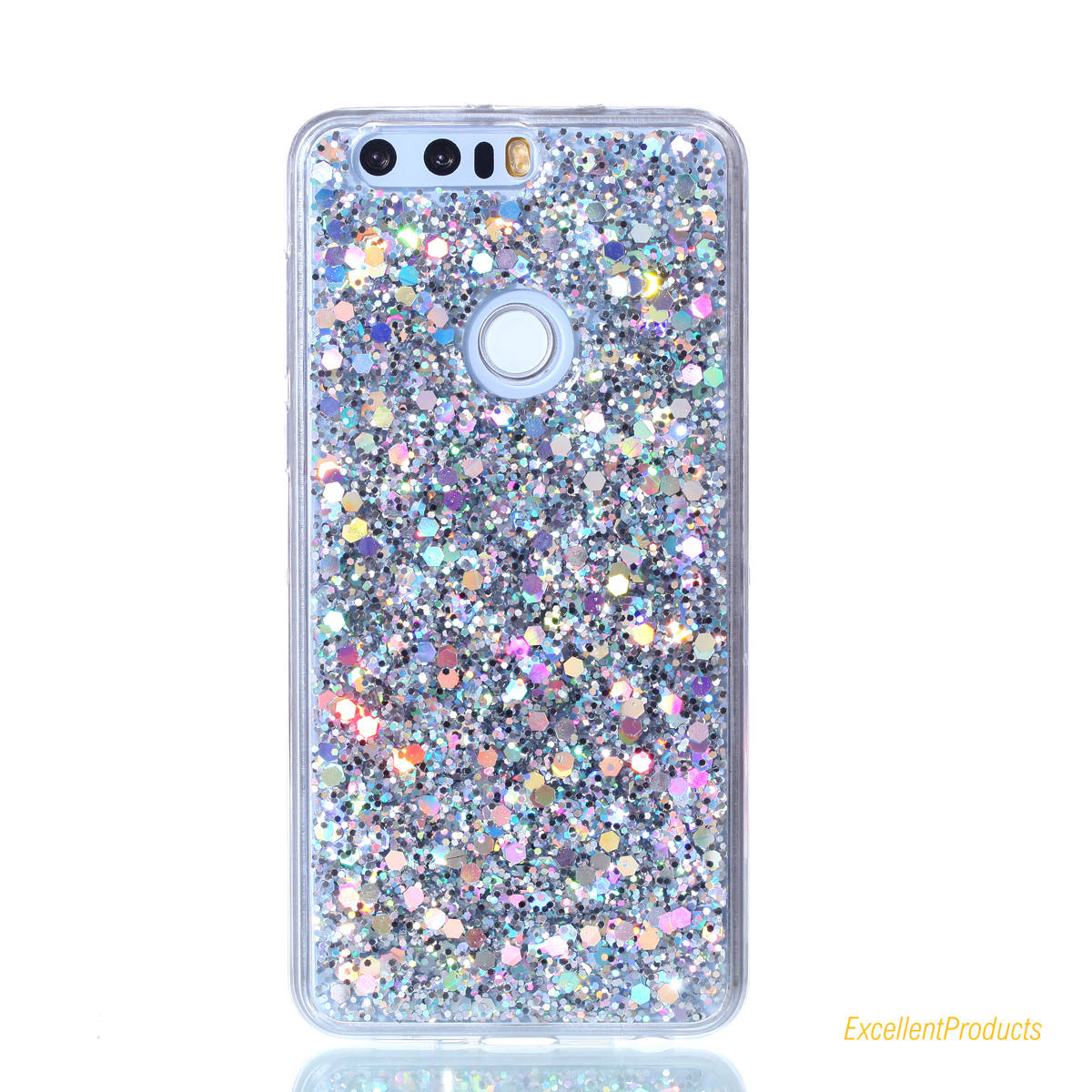 US $3 73 12% OFF|Aliexpress com : Buy For Huawei Honor 8 Case Luxury Bling  Glitter Star Phone Cases Flashing Powder Soft TPU Back Cover Capa Coque
