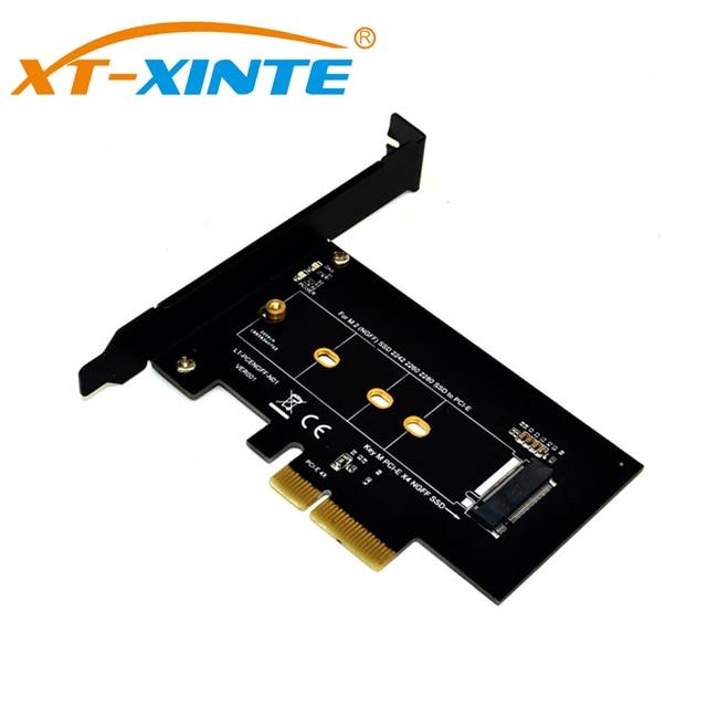 PCI-Express PCI-E 3,0X4 M.2 NGFF M слоте ключей конвертер адаптера M2 Nvme SSD PCIE Riser Card для рабочего стола 2280 2230 2242