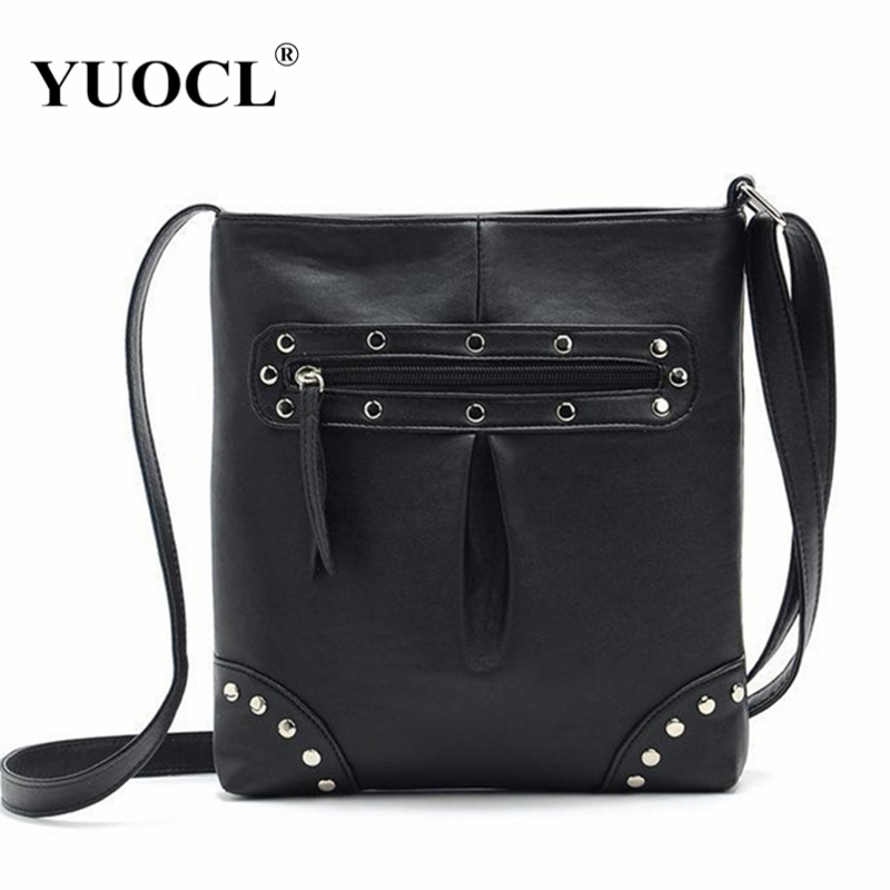 New bolsos woman bags 2017 famous women messenger bag handbag fashion female leather handbags brand tote shoulder bags spain sac