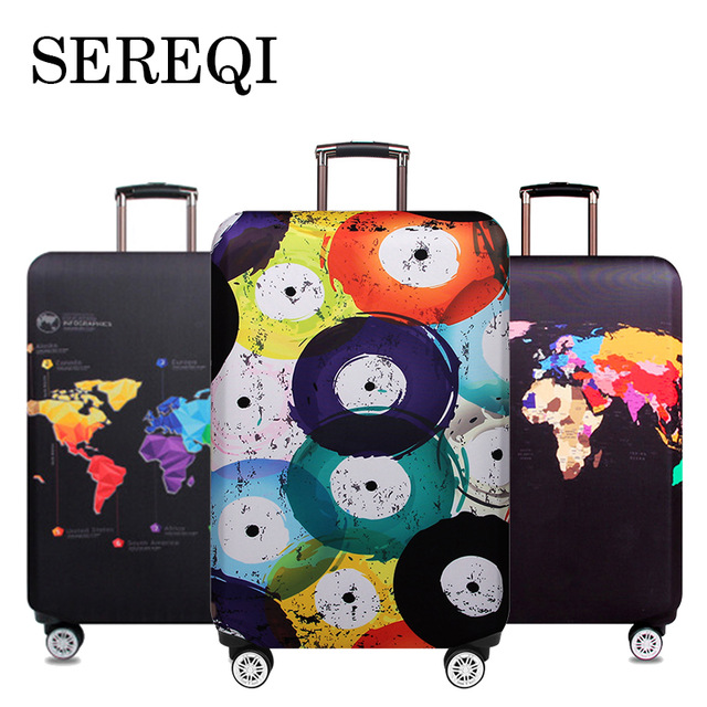 Serreqinew Travel Thickened Trunk Cover For 18 32 Inch Suitcase Suitcase Dust Cover Trunk Cover Travel Accessories Case Case