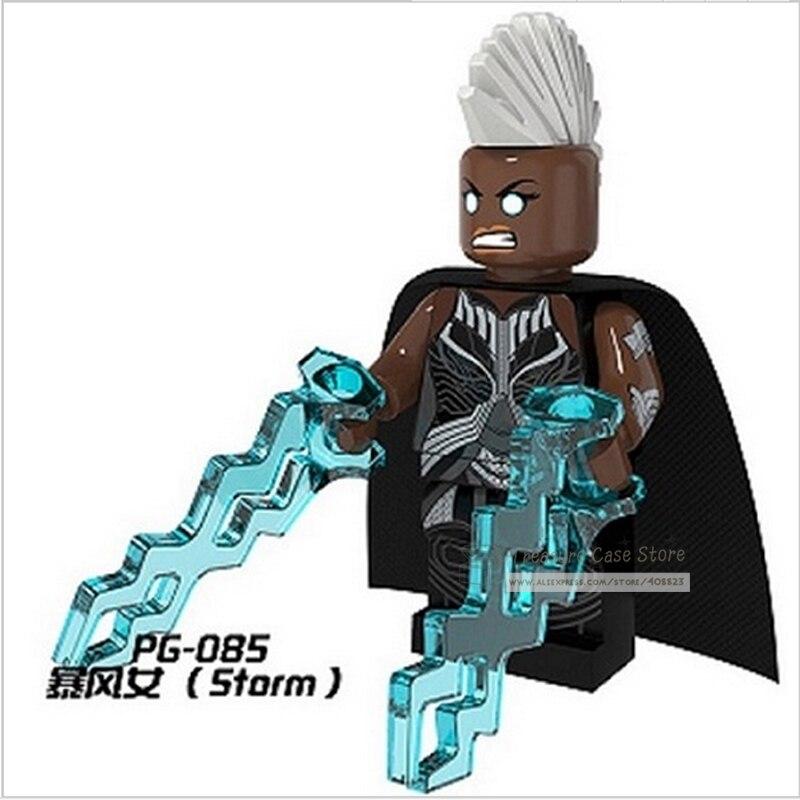 Pg085 Storm X-Men Рисунок супер герой здания Игрушечные лошадки Конструкторы ...