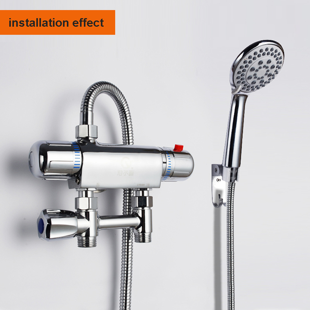 Low price brass thermostatic valve bath and shower faucet constant ...