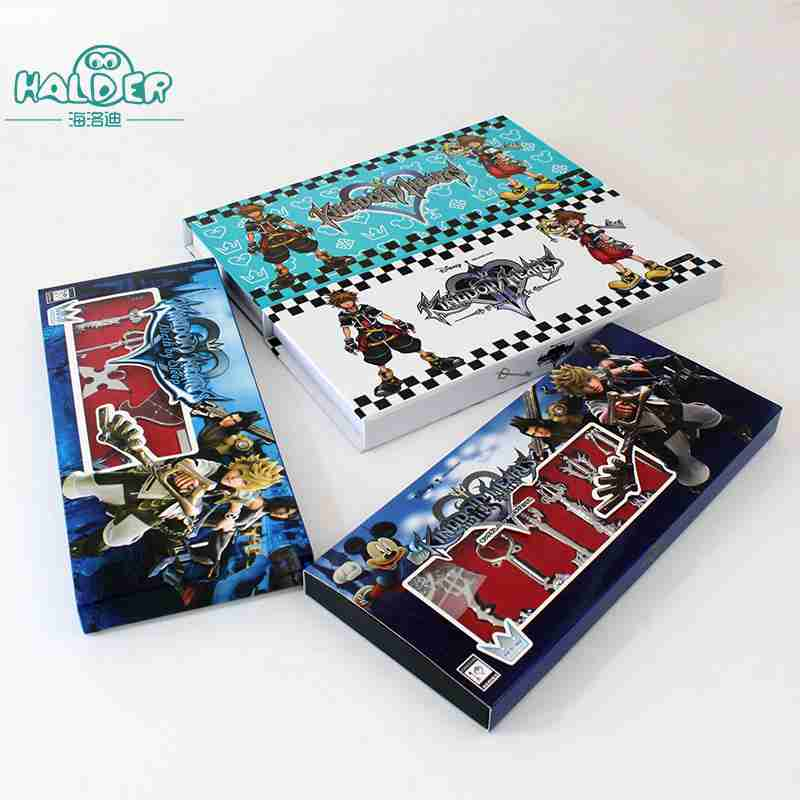 Halder Game Kingdom Hearts Alloy Metal Necklace Keychain 13pcs Set Accessories Chain Col ...