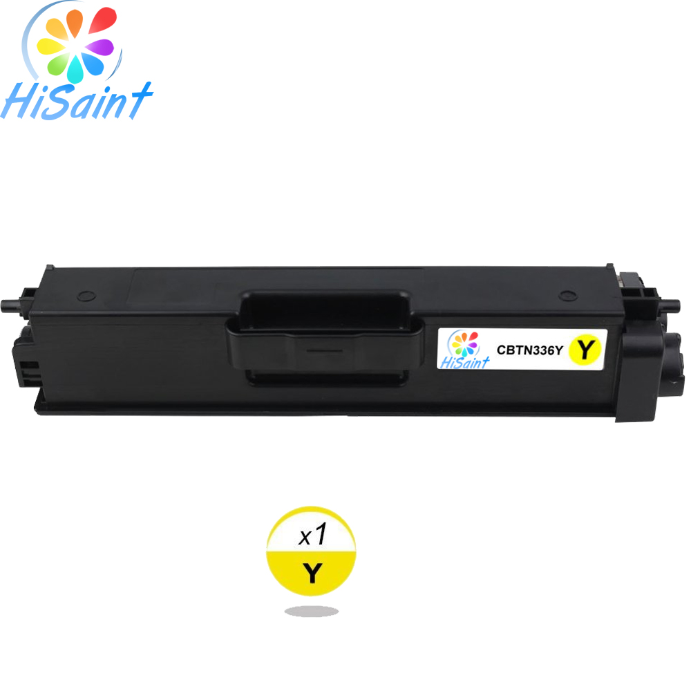 ФОТО Hot Sale Compatible for Brother TN336 TN-336 TN336Y 336 Toner Cartridge Rushed 4000/3500/3500/3500 pages at 5% coverage Cheap