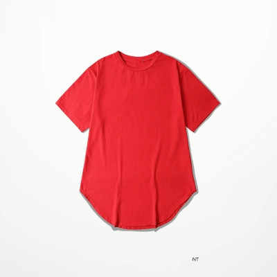 201 S/S Männer Extended Kanye West T-shirt Baumwolle Swag Mens T Shirts Skateboard T-shirt Solide Hip Hop T Hemd Männer t-shirts Tops Kpop