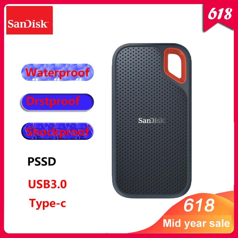 Sandisk SSD 600 550MB S 250GB 500GB 1TB 2TB Extenal Solid State Disk Hard Drive USB3