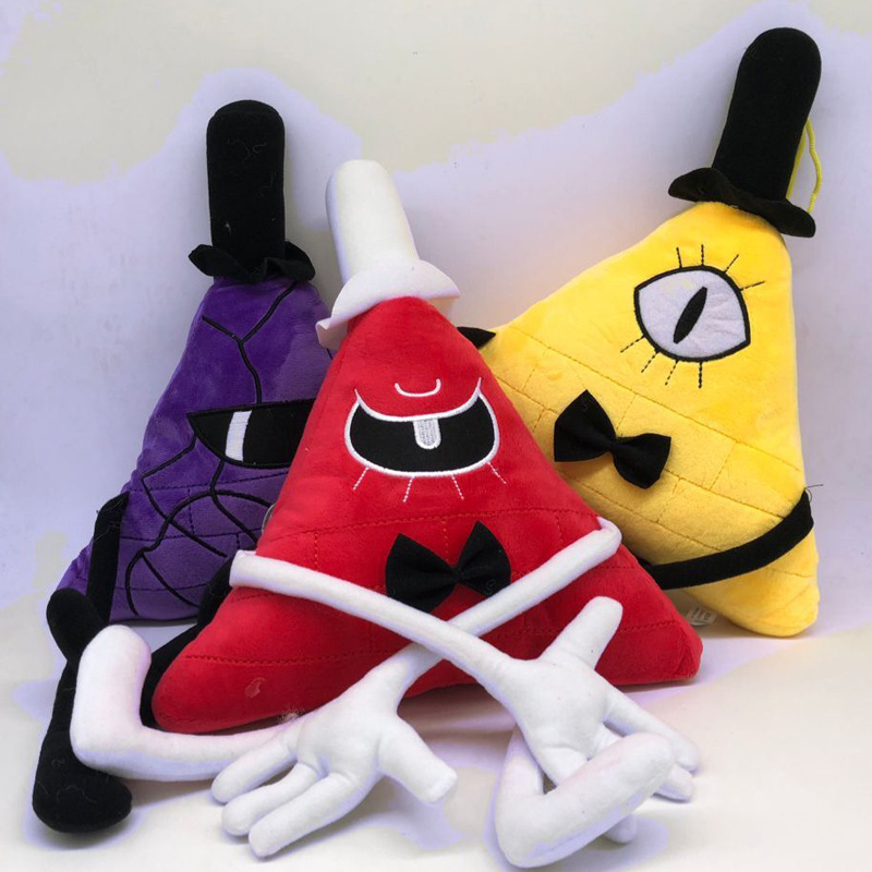 new 28CM Gravity Falls Bill Cipher plush toy stuffed toys A birthday present for your child