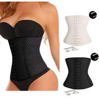 Palicy New Sale Women Lady Waist Belt Plus Size Waist Training Underbust Corset Cincher Boned Shapewear