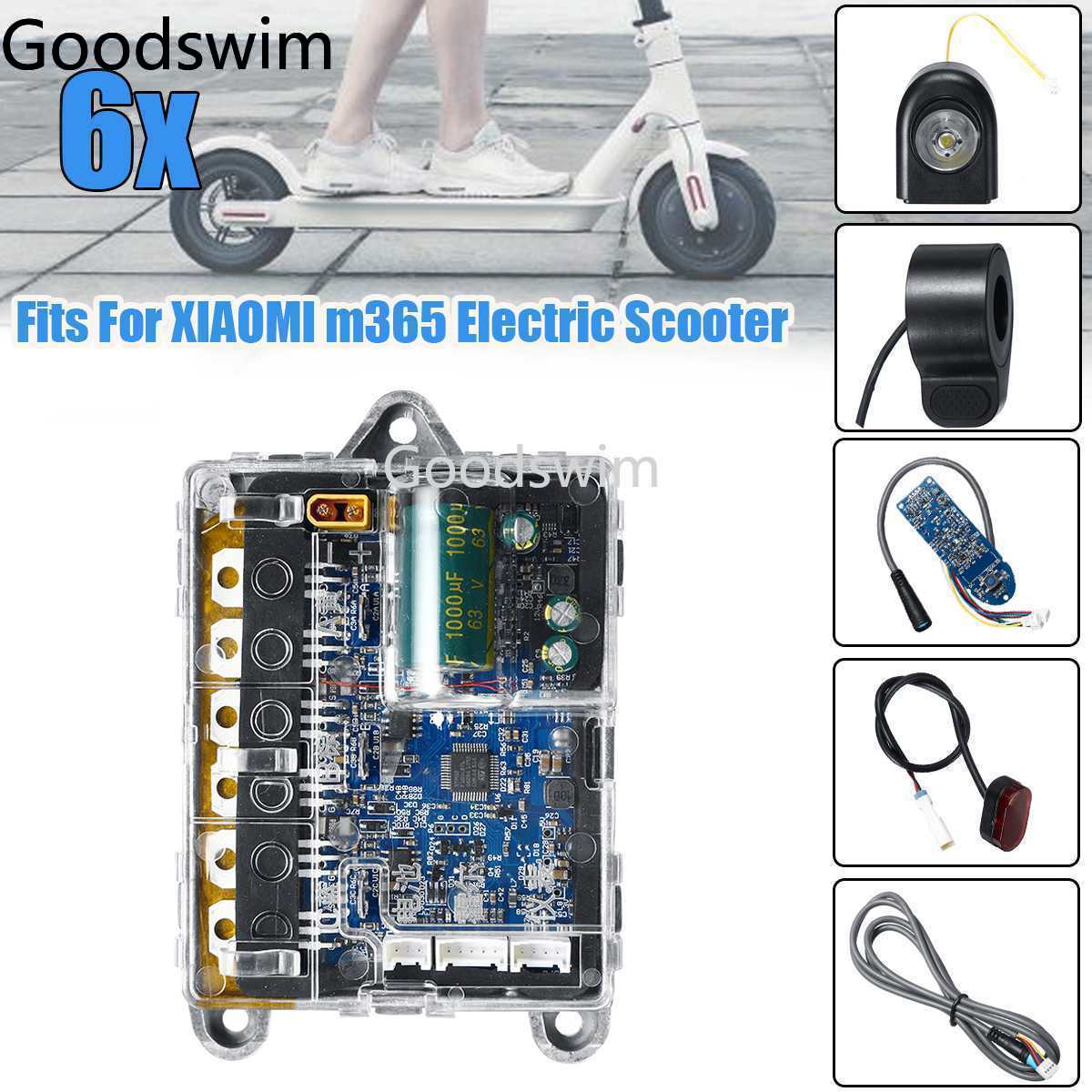 Xiaomi Scooter Parts For M365 M187 Electric Scooter Circuit Board Dashboard Controller Headlights Taillight Throttle Skateboard