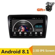 10 pollici 2.5D IPS Android 8.1 Car DVD Multimedia Player GPS Per Il vecchio Skoda Superb 2009-2010-2013 car audio radio stereo di navigazione