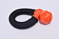Orange 14mm 80mm ATV Soft Shackles Winch Shackle For Auto Parts UHMWPE Shackle For Yacht