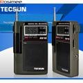 Original Tecsun R-818 R818 Radio FM Radio Pocket FM/MW/SW Receiver Digital Clock Alarm External Antenna Portable Radio FM Radio