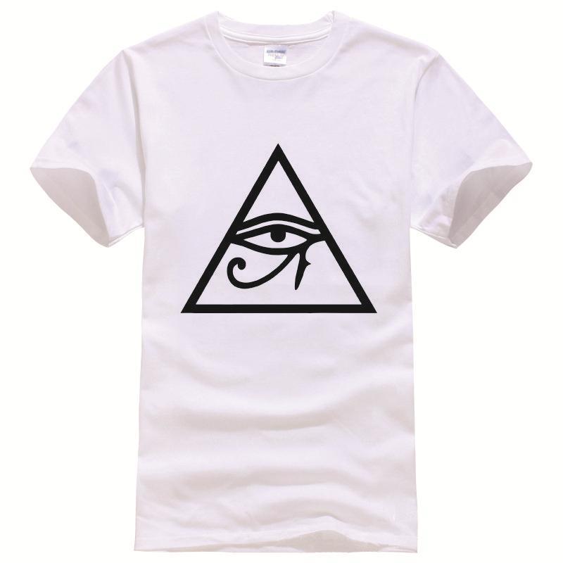 hipster triangle tumblr Tee Shirt Unisex fashion women men short sleeve funny shirt 6 size