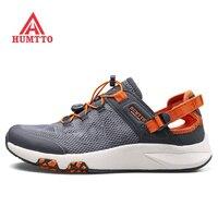 Humtto для мужчин Летние воды Aqua босиком обувь кроссовки для рыбалка пеший Туризм Туристические сандалии пляжная обувь мужские