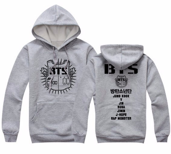 BTS JACKET  (4 Models)