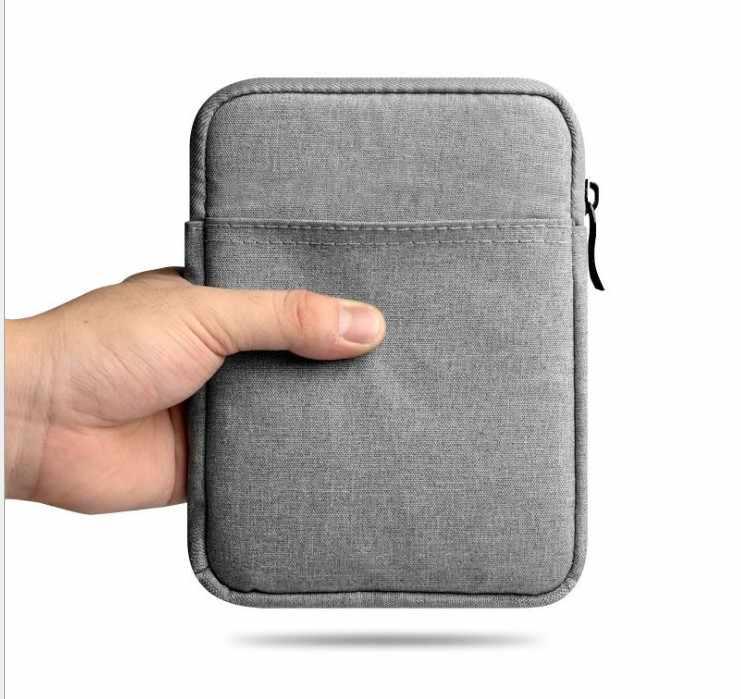 """Bolsa de 6 """"a prueba de golpes con cremallera para BQ Cervantes 4 Cervantes 3 6 pulgadas eBook para PocketBook 641 Aqua 2 funda de lector electrónico"""