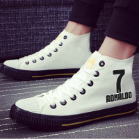 Fashion Men Cristiano Ronaldo CR7 Sneakers Canvas Shoes Men's Vulcanize shoes Footwear Casual Leisure Shoes