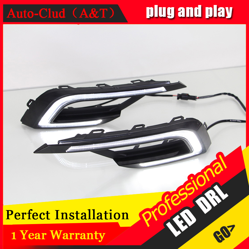 Auto Clud car styling For VW Lamando LED DRL For VW Lamando led fog lamps daytime running light High brightness guide LED DRL dongzhen fit for 92 98 vw golf jetta mk3 drl daytime running light 8000k auto led car lamp fog light bumper grille car styling