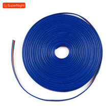 Extension Cable 10M 4 pin Connecting Line Connector Wire for SMD 5050 3528 Flexible RGB LED Strip Lights Lamp Band 1 100 meters 2pin 3pin 4pin 5pin extension wire led cable connector for 5050 3528 ws2812b led stirp light