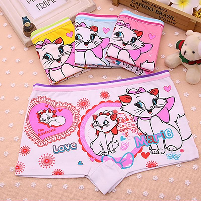 4pcs-lot-cotton-child-boxer-briefs-children-underwear-cute-cat-girls-underpants-female-child-boxer-baby-shorts-for-2-9-years