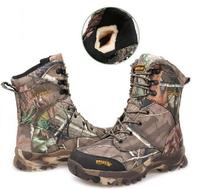 Wholesale Hot Winter Plus Velvet Realtree AP Camouflage Tactical Boots Outdoor Desert Camo Jungle Shoes Hunting