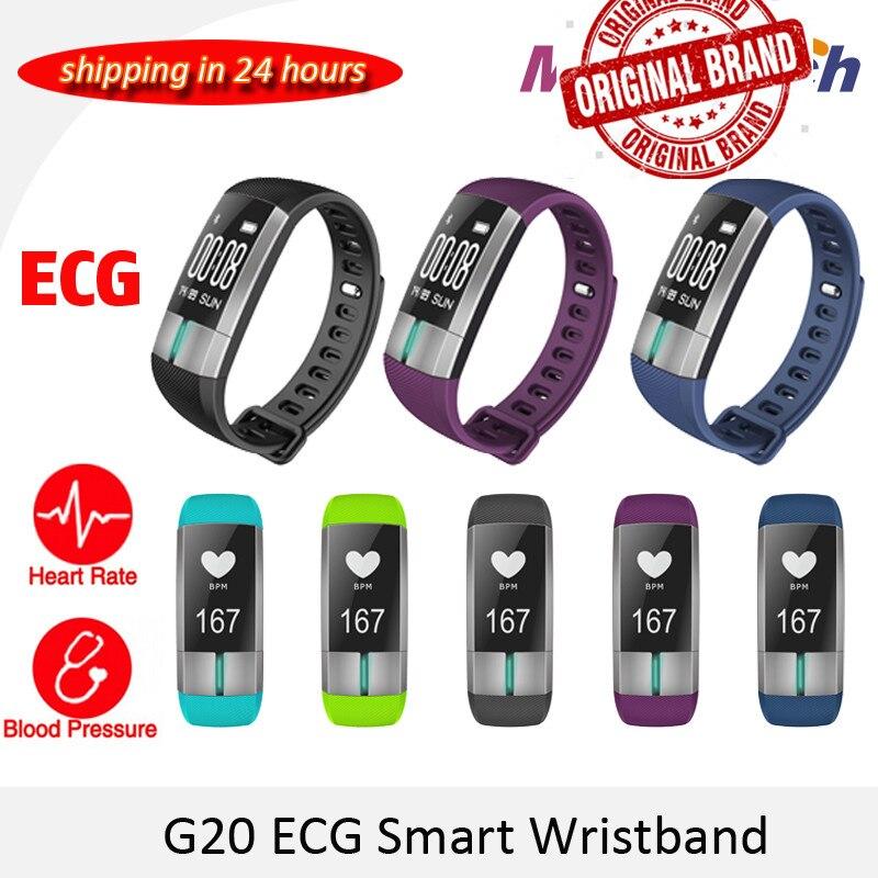 ECG Smart Monitoring Bracelet ecg Fitness Tracker Activité ecg Sang Pression Bracelet Pulsometro PK id107 Xiomi mi bande 2