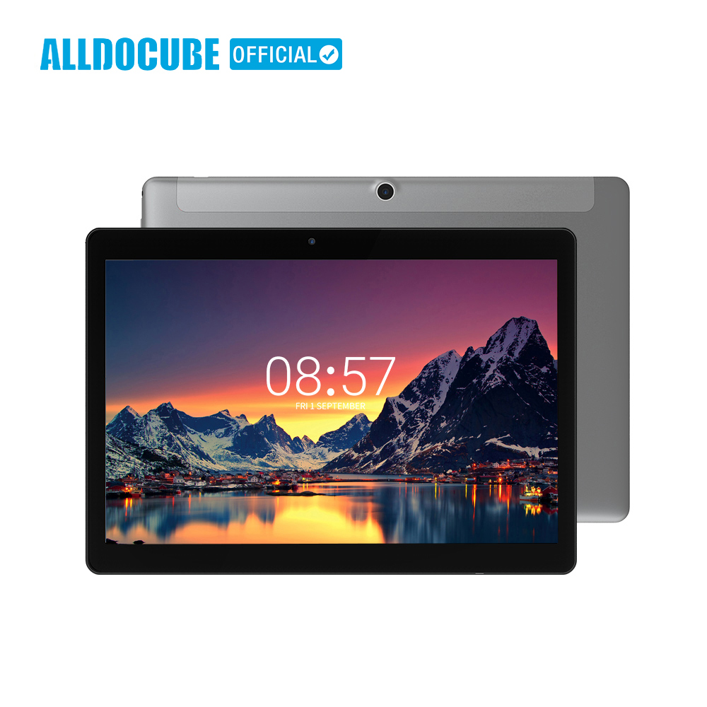 ALLDOCUBE C5 9,6 дюйма ультра-тонкий 4G Телефонный звонок Tablet 1280*800 ips Android7.1 MTK6737 4 ядра 2 Гб Оперативная память 32 ГБ Встроенная память WI-FI Phablet