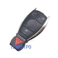 Smart Ключи Дистанционное управление ключ пустой В виде ракушки 3 4 кнопки для Mercedes Benz Ключи Замена Дело Брелок