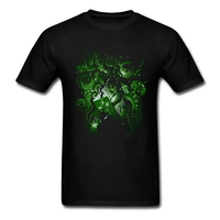 Summer Family T Shirts Online Male Call Of Cthulhu Tee With Love Cthulhu II Mens Create