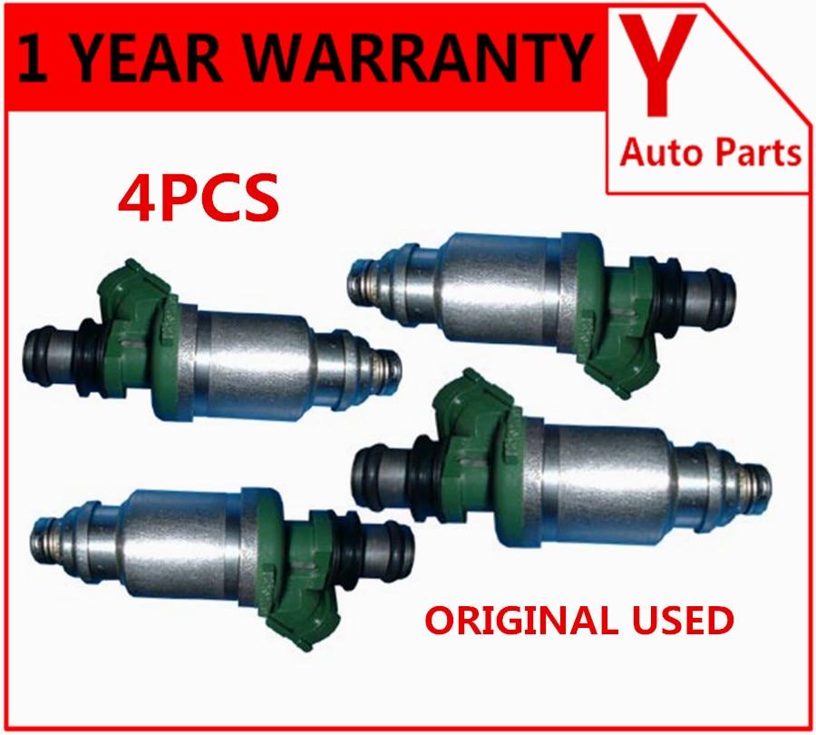 4pcs Fuel Injector 23250-74100 for Toyota Camry Celica MR2 Solara 2.2L RAV4 2.0L