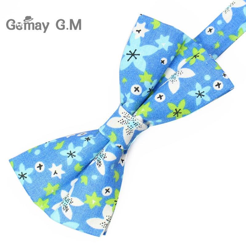 Klassinen kukkakuvioinen solmio miehille tulosta puuvilla Bowtie - Vaatetustarvikkeet - Valokuva 3