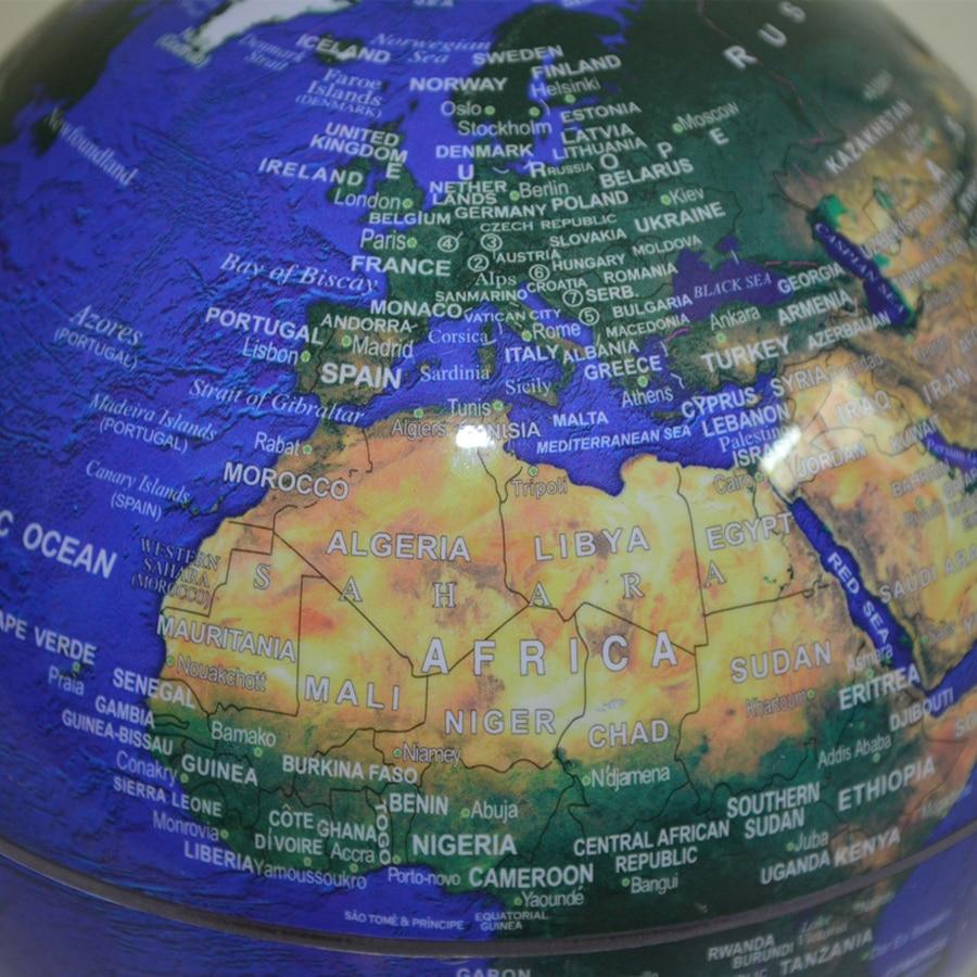 Inch Creative Electronic Magnetic Levitation Floating Luminous - Globe map for kids