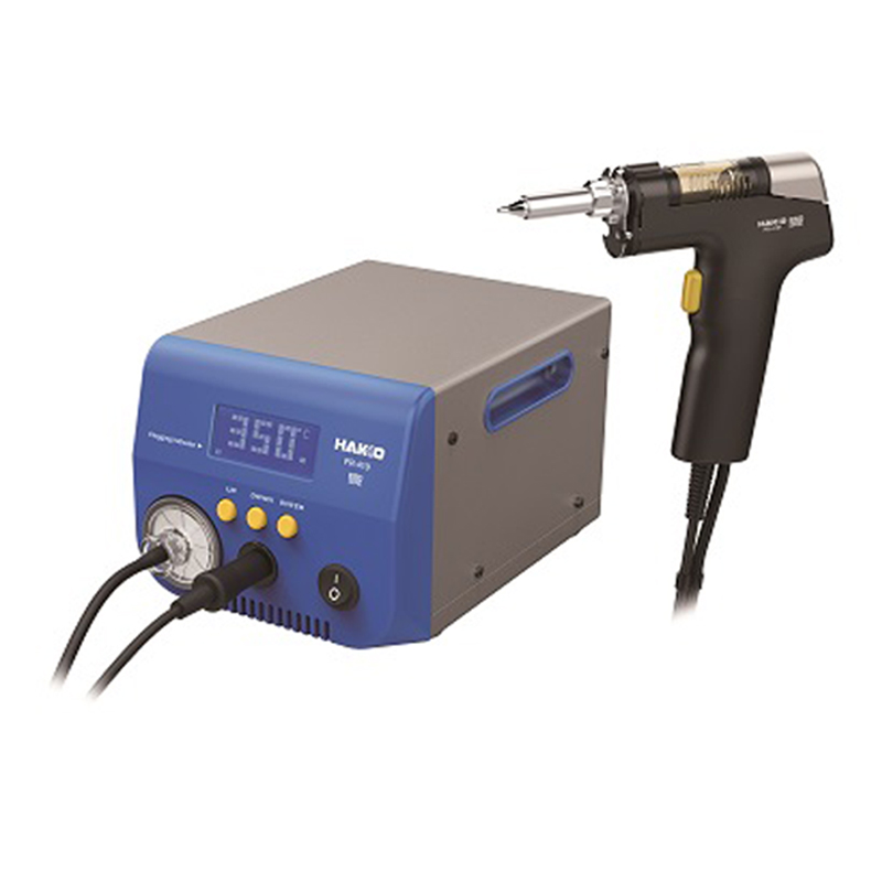 HAKKO FR-410 NEW Desoldering Tool With Built-in Vacuum Pump 140W