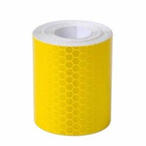 Image 4 - 1Pc Colorful Argento Bianco Riflettente di Sicurezza di Avvertimento Conspicuity Tape Autoadesivo della Pellicola