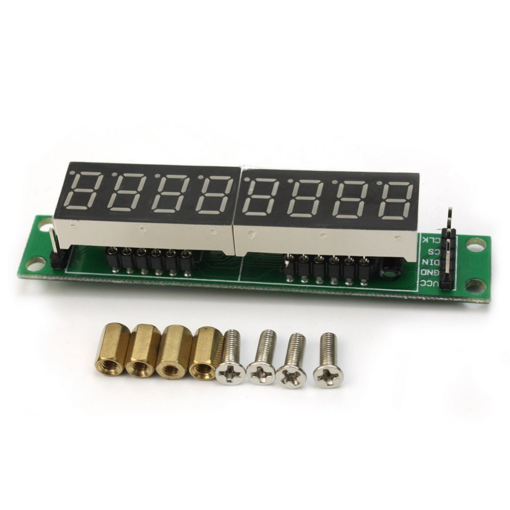 WeiKdez Smart Electronics For arduino MAX7219 CWG 8-Digit Digital Tube Display Control Module
