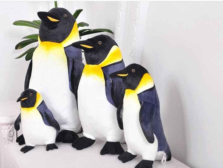 محاكاة البطريق أفخم لعبة جميلة البطريق لينة دمية رمي وسادة عيد الميلاد هدية w0959